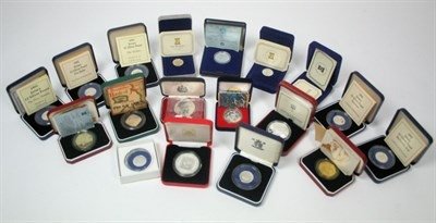 Lot 646 - A collection of world proof coinage