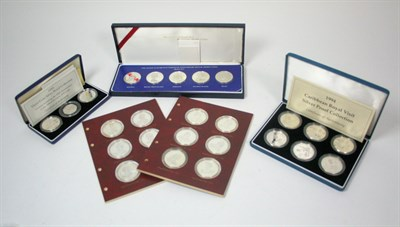 Lot 632 - A five coin Thirtieth anniversary of Queen Elizabeth II coin set