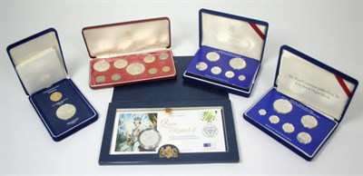 Lot 637 - A small group of world proof sets