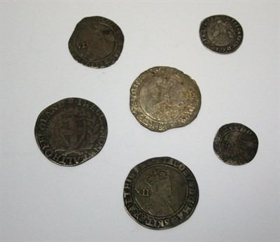 Lot 612 - A small collection of hammered silver coinage