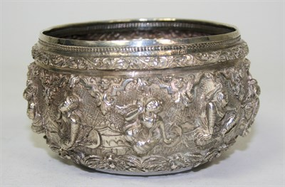 Lot 675 - A small collection of Burmese silver