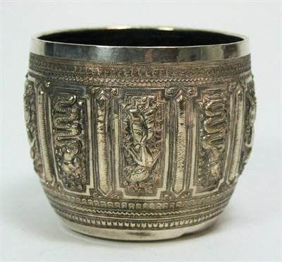 Lot 674 - A Burmese sugar bowl
