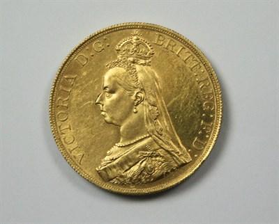 Lot 584 - An 1887 £5 coin
