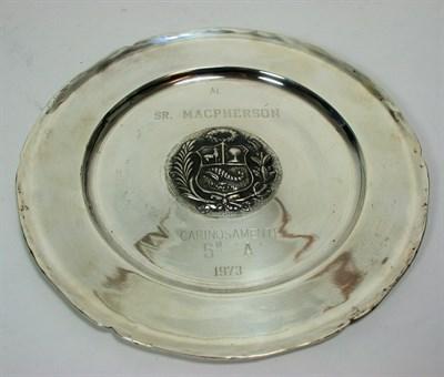 Lot 671 - A collection of Peruvian metalwares