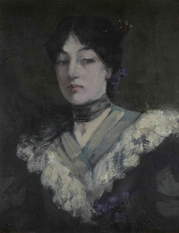 Lot 99-BESSIE MCNICOL (SCOTTISH 1869-1904)