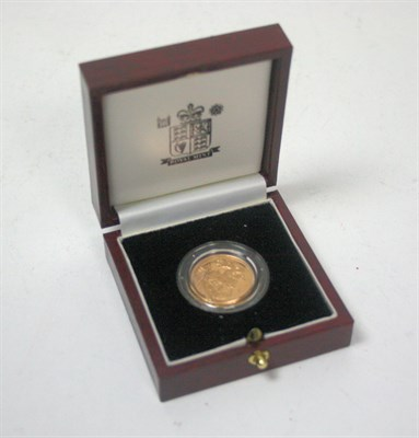 Lot 573 - A 1996 proof sovereign
