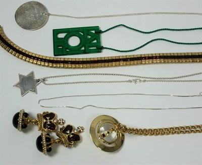 Lot 49 - VIVIENNE WESTWOOD - A paste set pendant