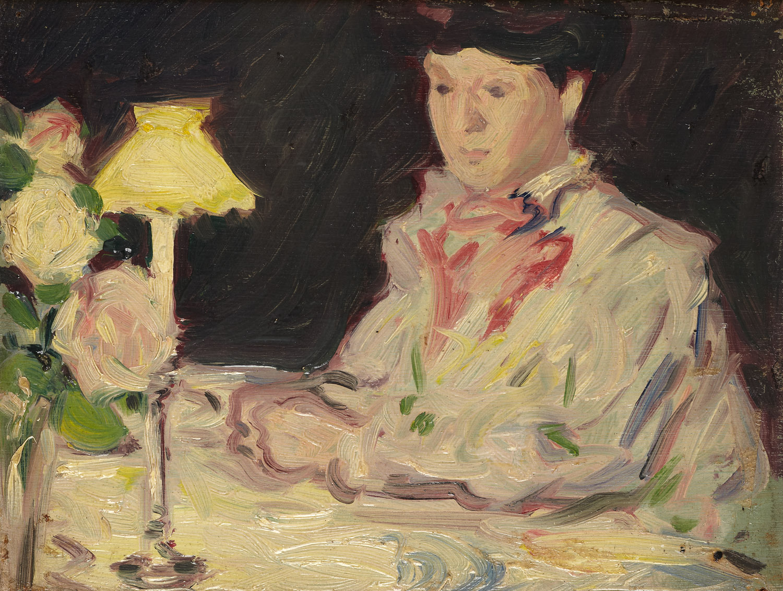 Lot 50 - JOHN DUNCAN FERGUSSON R.B.A. (SCOTTISH 1874-1961)