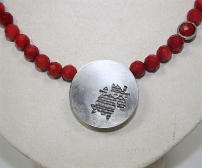 Lot 32 - HANNAH LOUISE LAMB - Silver 'Bobby' brooch
