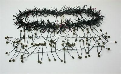 Lot 33 - FELIEKE VAN DER LEEST - A knitted neckpiece