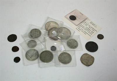 Lot 610 - A collection of early milled and hammered coinage