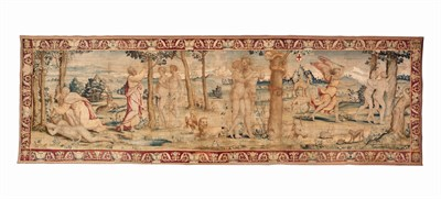 45 - FLEMISH BIBLICAL TAPESTRY OF THE CREATION AND FALL OF MAN