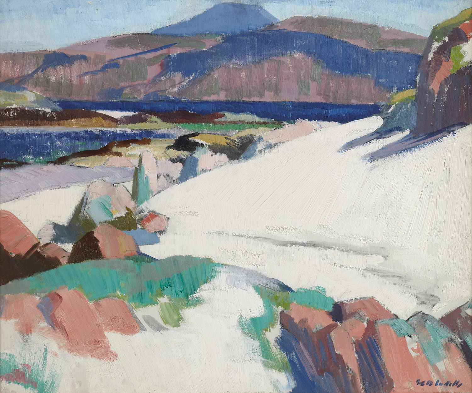 Lot 58 - FRANCIS CAMPBELL BOILEAU CADELL R.S.A., R.S.W. (SCOTTISH 1883-1937)