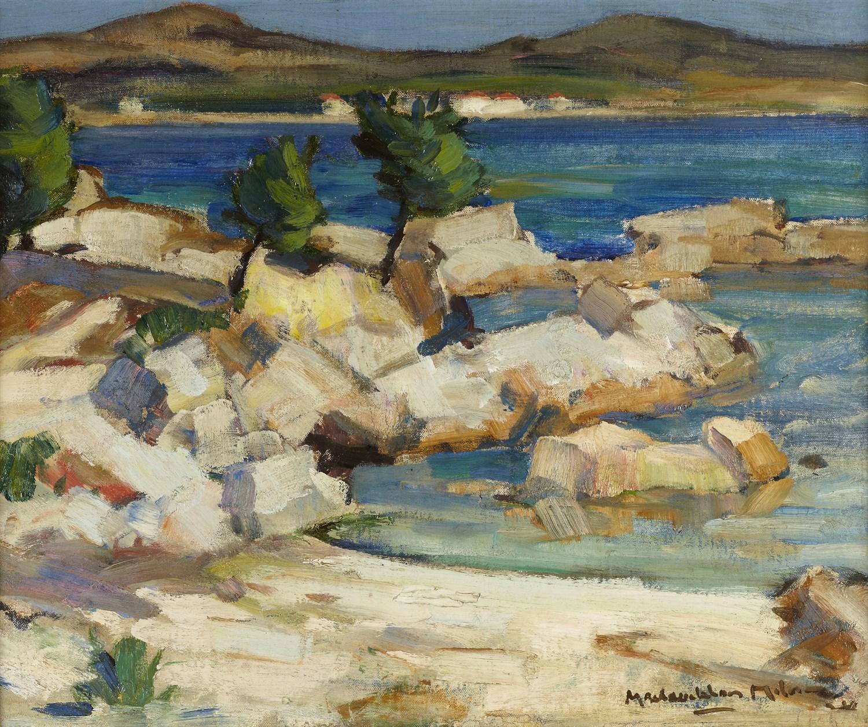 Lot 202 - JOHN MACLAUCHLAN MILNE R.S.A (SCOTTISH 1886-1957)