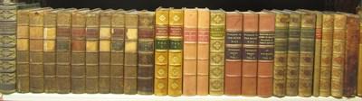 Lot 117 - Leather bindings, 53 volumes