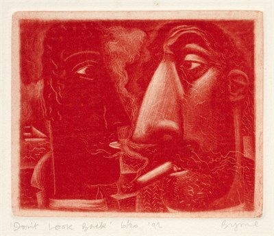 Lot 141 - JOHN BYRNE (SCOTTISH B.1940)