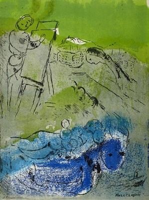 Lot 140 - MARC CHAGALL (RUSSIAN-FRENCH 1887-1985)