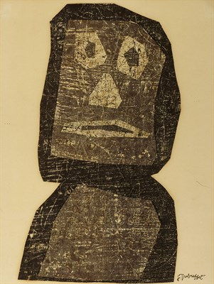 Lot 70 - JEAN DUBUFFET (FRENCH 1901-1985)