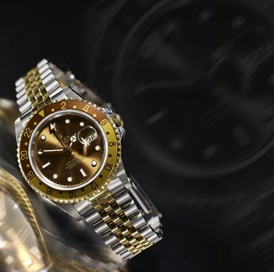 Lot 162 - ROLEX - Oyster Perpetual Datejust GMT Master II