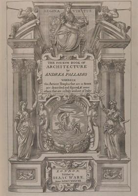 Lot 49 - PALLADIO (Andrea) The four books of Andrea...