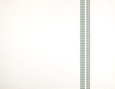 Lot 184 - IAN HAMILTON FINLAY (SCOTTISH 1925-2006)