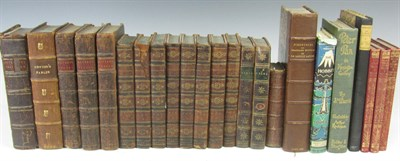 Lot 103 - A collection of leather bound and children's books, including The Spectator