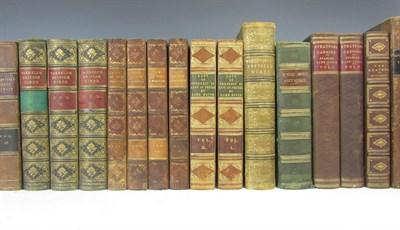 Lot 119 - Leather bindings, 60 volumes, including Moleville, A.F.B. de