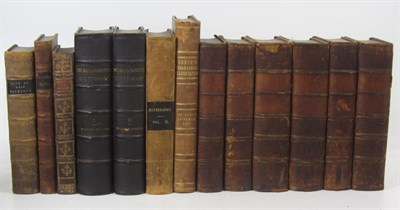 Lot 31 - Leather bindings, 100 volumes, mostly calf