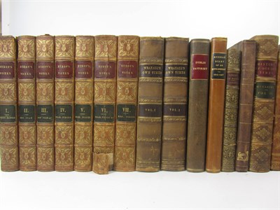 Lot 118 - Leather bindings, 56 volumes, 8vo, including Dixon, H.