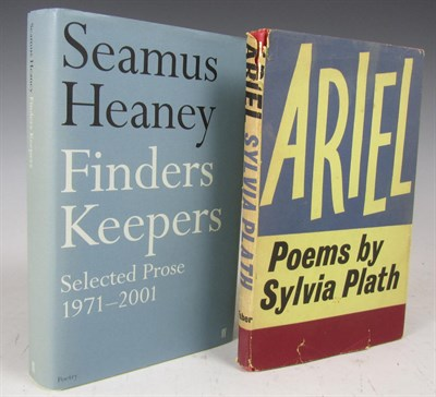 Lot 69 - Heaney, Seamus and Sylvia Plath