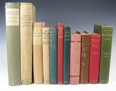 Lot 104 - A small quantity of hunting books, including 'Sabretache' [Barrow, Albert Stewart]