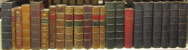 Lot 116 - Leather bindings, 50 volumes