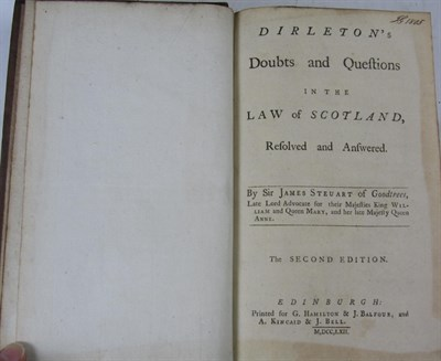Lot 21 - 6 legal works - 16th and 17th century