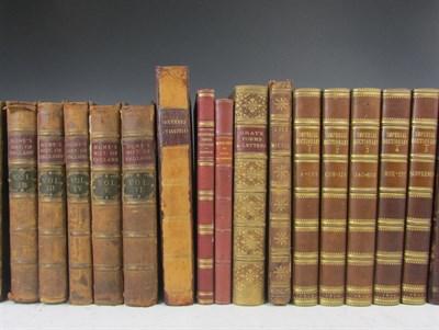 Lot 32 - Leather bindings, quartos, a quantity, including Hume, David