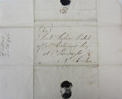 Lot 92 - Doctor Joshua Pilot of Col. Batereau's Regt. at Inverness, 1746