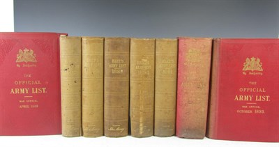 Lot 35 - Military history - Annual army list - Hart, H.G.