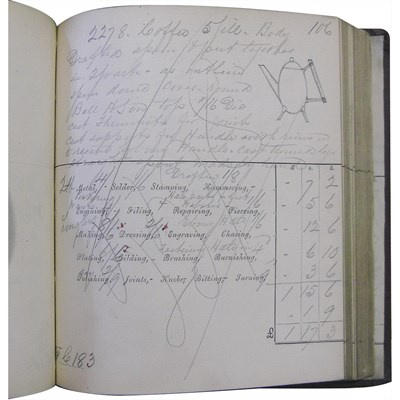 Lot 158-CHRISTOPHER DRESSER (1834-1904) FOR JAMES DIXON & SONS, SHEFFIELD