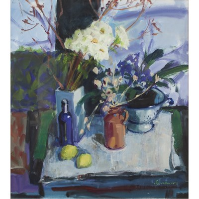 Lot 469 - CONNIE SIMMERS (SCOTTISH 20TH CENTURY)