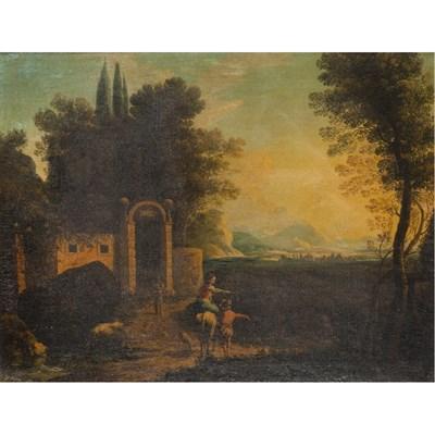 Lot 546 - FOLLOWER OF FRANCESCO ZUCCARELLI (ITALIAN 1702-1788)