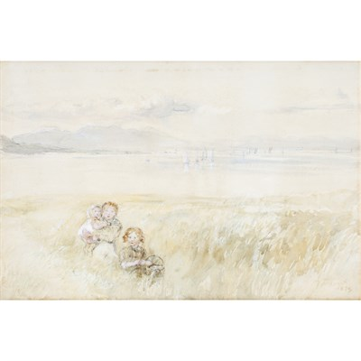 Lot 526 - WILLIAM MCTAGGART R.S.A. (SCOTTISH 1835-1910)
