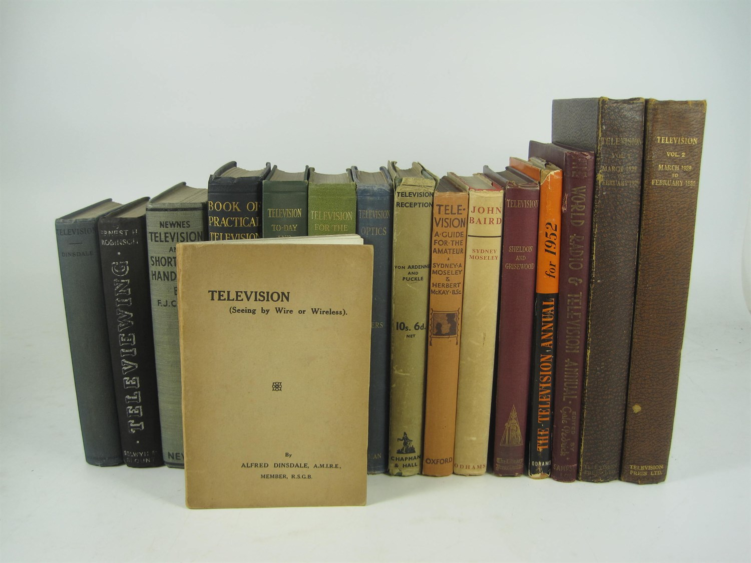 Lot 312 - Television, a collection of early works