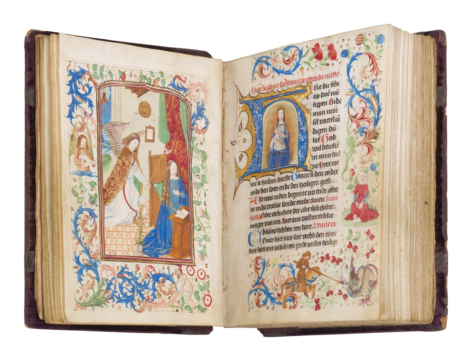Lot 163 - Book of Hours - in Netherlandish, use of Utrecht, second half of the fifteenth century