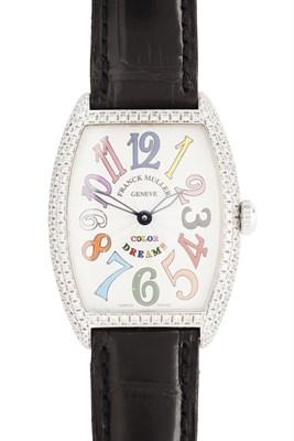 Lot 149 - FRANCK MULLER - A diamond set wrist watch