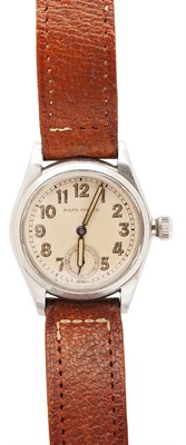 Lot 161 - ROLEX - A stainless steel cased wrist watch
