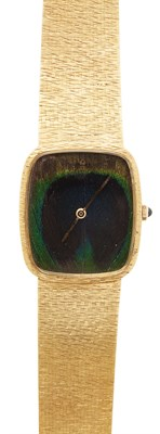 Lot 147 - CORUM - A Gentleman's 18ct gold wrist watch