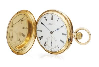 Lot 168 - An 18ct gold pocket watch