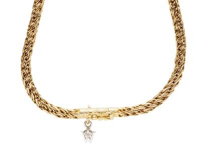 Lot 137 - WELLENDORFF - An 18ct gold necklace