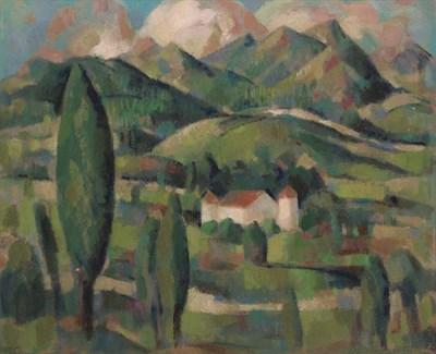 Lot 75 - JOHN DUNCAN FERGUSSON R.B.A. (SCOTTISH 1874-1961)
