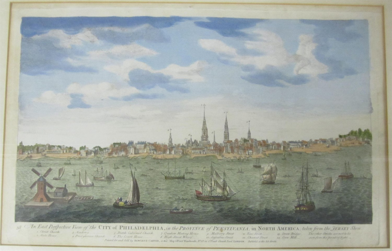 Lot 82 - Philadelphia - Carwitham, John [after George Heap]