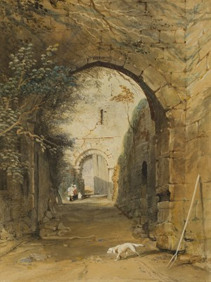 Lot 12-THOMAS MILES RICHARDSON THE YOUNGER (BRITISH 1813-1890)